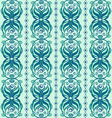 Seamless abstract pattern of wavy ornament vector image vector image
