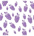 seamless grape vector image