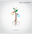 Tree of Knowledge concept vector image vector image