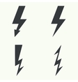 Abstract background with electric lightning vector image vector image