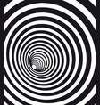 abstract geometric hypnotic spiral black wormhole