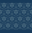 background with triangular shapes hexagonal grid vector image vector image