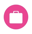 briefcases business button image vector image