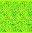 green geometrical striped pattern - tiled mosaic vector image vector image