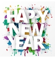 happy new year celebration 2016 vector image vector image