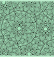 seamless mandala pattern for printing on fabric or vector image vector image