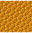 tiger style background vector image