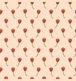 Tulip flowers pink floral romantic art pattern