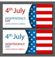 - United States Flag Glossy usa flag set vector image