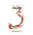 3 number three 3d number sign figure 3 vector image