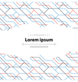 Abstract linear pattern and cover backdrop vector image