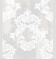 baroque ornament wallpaper background vector image vector image