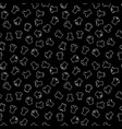 dark t-shirt seamless pattern or background vector image