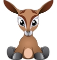 Funny antelope vector image vector image