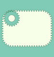 gear abstract vector image