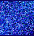 geometric abstract regular triangle mosaic vector image vector image