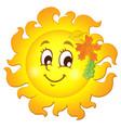 happy autumn sun theme image 1