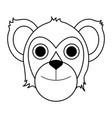 koala draw vector image vector image