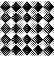 monochrome geometrical seamless abstract square vector image vector image
