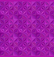 purple geometrical striped shape mosaic tile vector image vector image