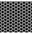 Seamless metal lattice pattern vector image vector image