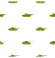 tank pattern flat vector image vector image