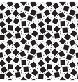 Seamless pattern with black squares vector image