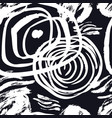 black and white abstract background sketch style vector image vector image
