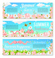 blooming orchids or crocuses summer banners vector image