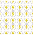 energy hazard symbol with arrows around background vector image vector image