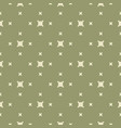 green minimalist geometric seamless pattern vector image vector image