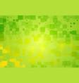 green yellow shades glowing various tiles vector image vector image