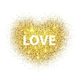 Love with frame vector image vector image
