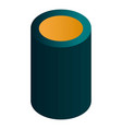 smart speaker icon isometric style vector image