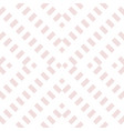 subtle pink geometric seamless abstract pattern vector image vector image