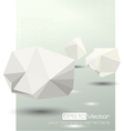 Abstract modern depth of field business design vector image vector image