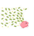 concept save money vector image