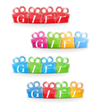 Gift Banners vector image