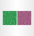 green and purple abstract square backgrounds vector image vector image