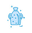 jug icon design vector image