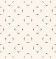 minimal geometric floral seamless pattern texture vector image vector image