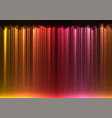 red stream abstract bar line background vector image vector image