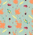 Seamless Teatime vector image