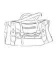 Sketch sports bag with pockets