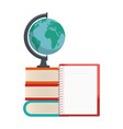 study books design vector image