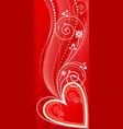 love ornament vector image