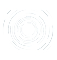 Abstract round lines background vector image