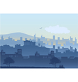 An of Athens cityscape vector image