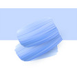background with blue watercolor brush strokes vector image
