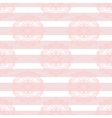 bapink mandala subtle striped seamless pattern vector image